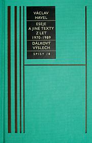 Spisy 4 (Eseje a jiné texty z let 1970-1989)